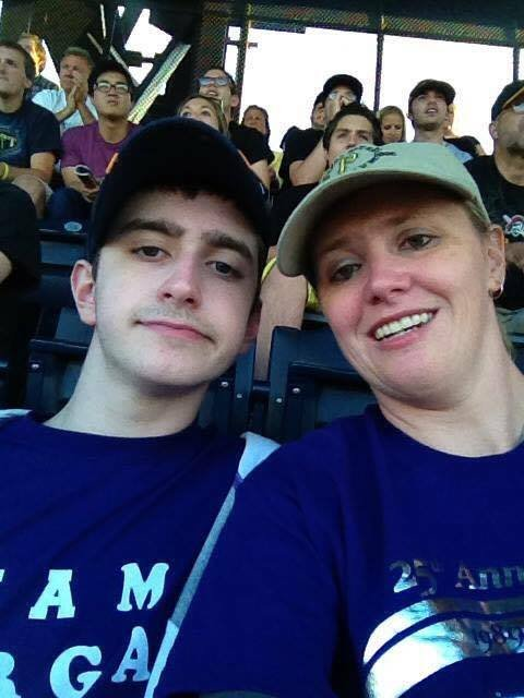 Cindy and her son Morgan