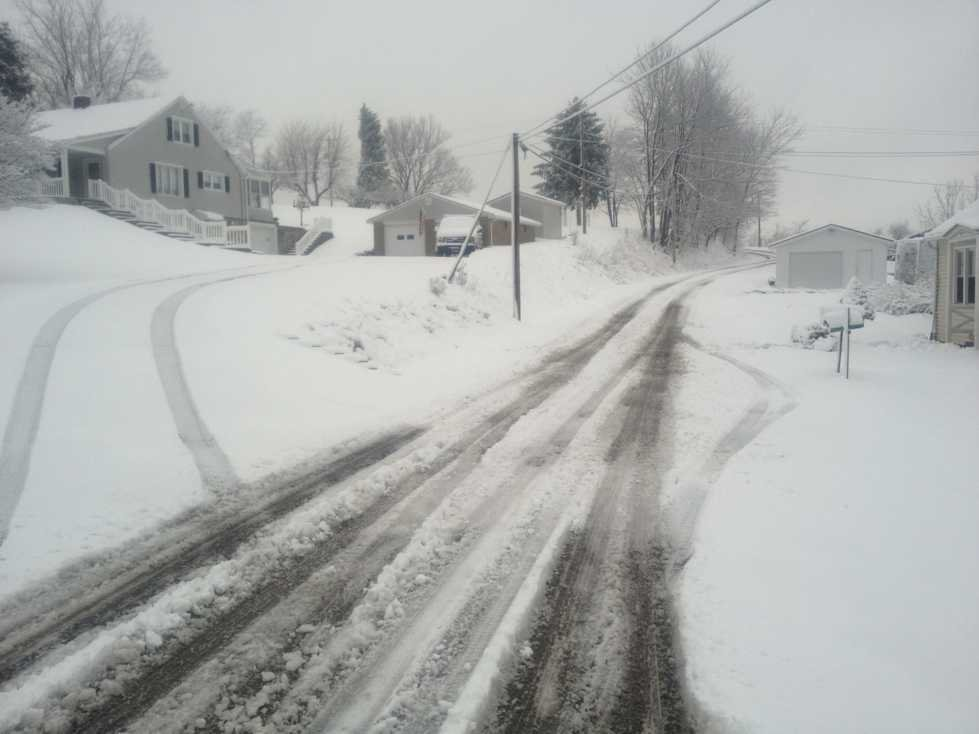 County Road 88 in Marshall County