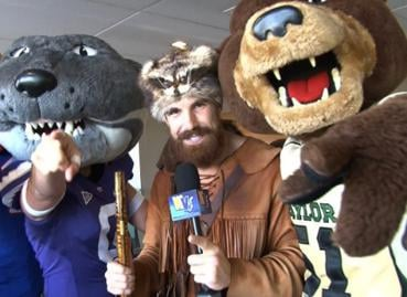 Jonathan Kimble has been named West Virginia University's mascot for another year