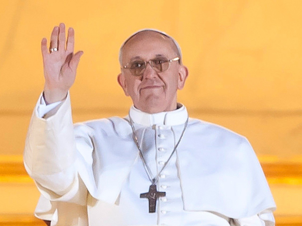 The Pope signaled that he wants a church whose first priority is the poor and disadvantaged.