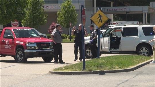 Chief Deputy Marty Kimball said the man pulled up in front of the emergency room claiming to have swallowed biohazard material and, though he did not make any threats, that he had more in his truck.
