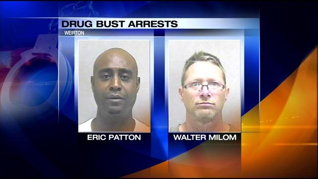 These two men face multiple charges in Weirton.