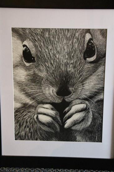 """Ricer's artwork, """"Coy"""""""