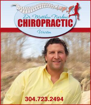 Dr. Matthew Nardone Chiropractic - Sponsorship header