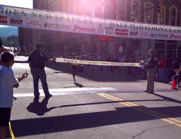 FILE:  Philip Lagat of Kenya wins the 2014 Ogden Half Marathon in Wheeling, WV.