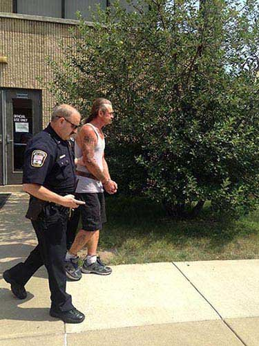 Carl Chain is being charged with first-degree murder