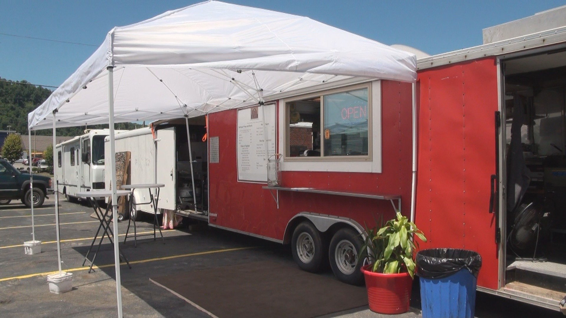 What started out as just a regular trailer has turned into a massive food truck and catering service a dream of one local chefs.