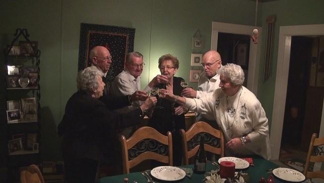 Celebrating Years of Friendship Friends Celebrate New Years